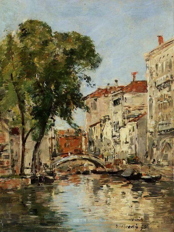 莫奈的启蒙恩师,法国最早印象派画家欧仁·布丹插图278