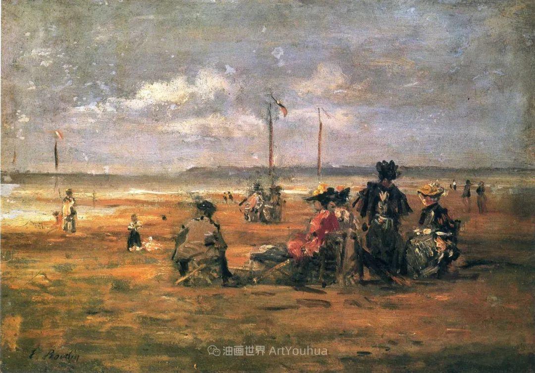 莫奈的启蒙恩师,法国最早印象派画家欧仁·布丹插图280