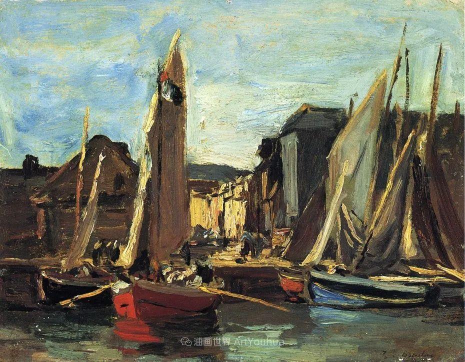 莫奈的启蒙恩师,法国最早印象派画家欧仁·布丹插图282