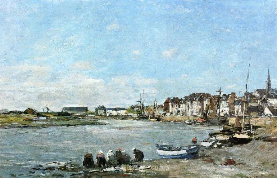 莫奈的启蒙恩师,法国最早印象派画家欧仁·布丹插图300