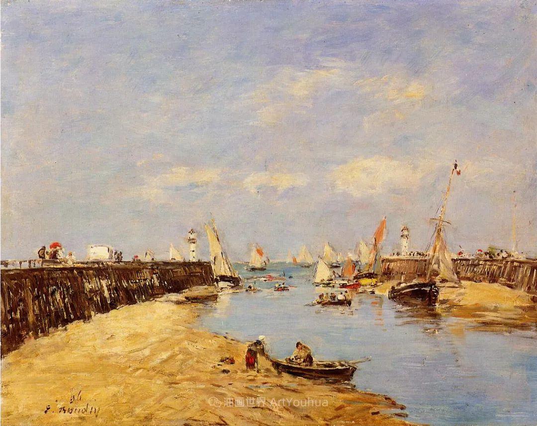 莫奈的启蒙恩师,法国最早印象派画家欧仁·布丹插图302