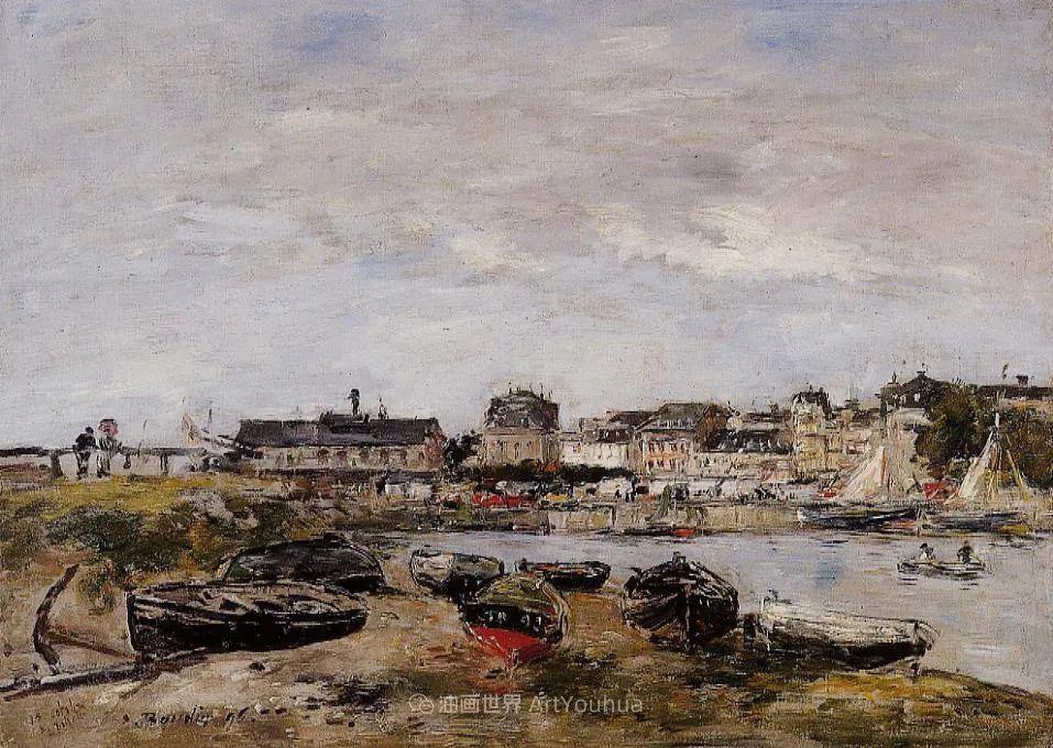 莫奈的启蒙恩师,法国最早印象派画家欧仁·布丹插图306