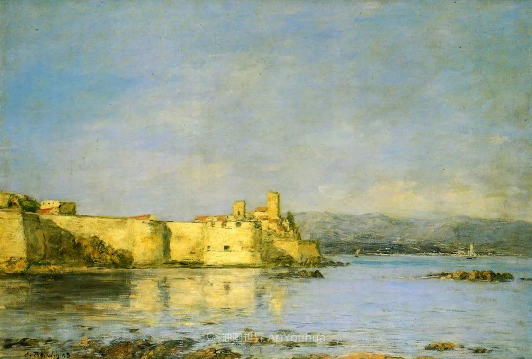莫奈的启蒙恩师,法国最早印象派画家欧仁·布丹插图316