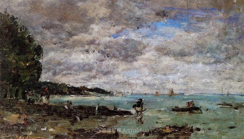 莫奈的启蒙恩师,法国最早印象派画家欧仁·布丹插图318