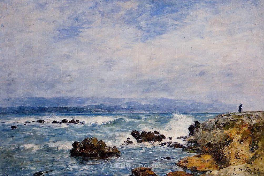 莫奈的启蒙恩师,法国最早印象派画家欧仁·布丹插图324
