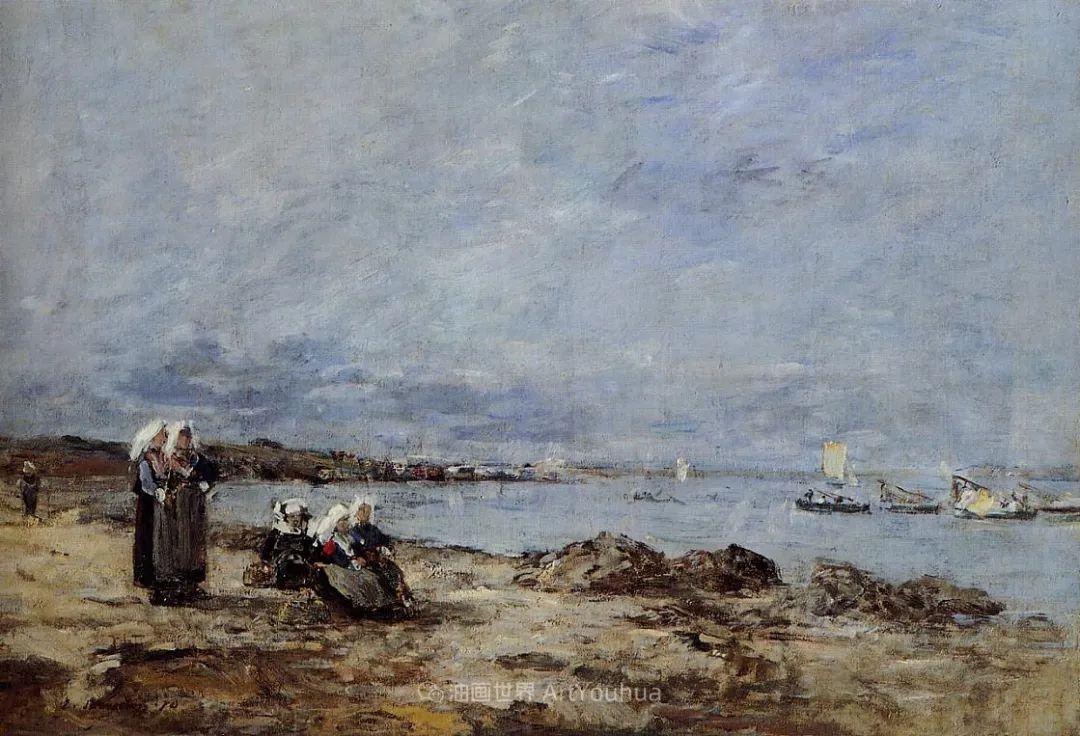 莫奈的启蒙恩师,法国最早印象派画家欧仁·布丹插图342
