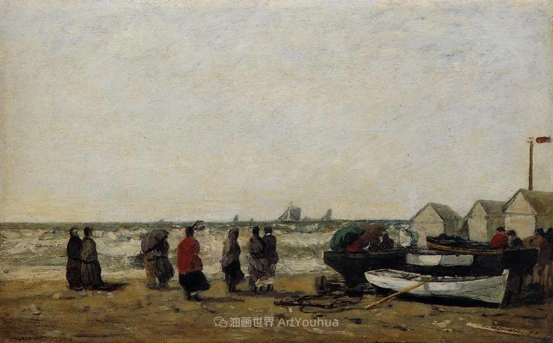 莫奈的启蒙恩师,法国最早印象派画家欧仁·布丹插图352