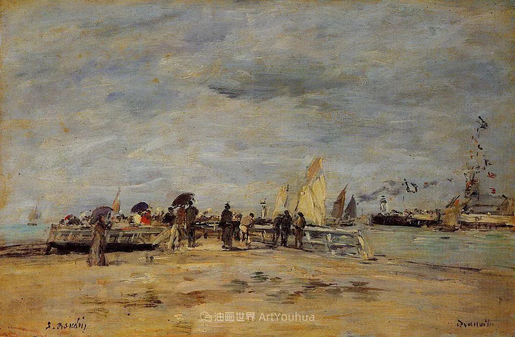莫奈的启蒙恩师,法国最早印象派画家欧仁·布丹插图358