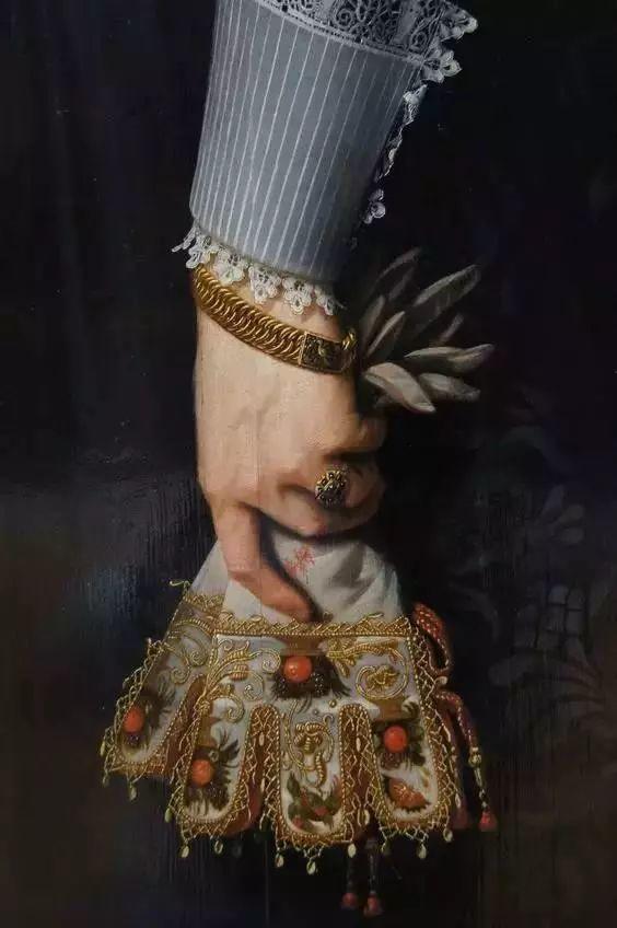 西方艺术大师们的油画作品细节,望尘莫及!插图143