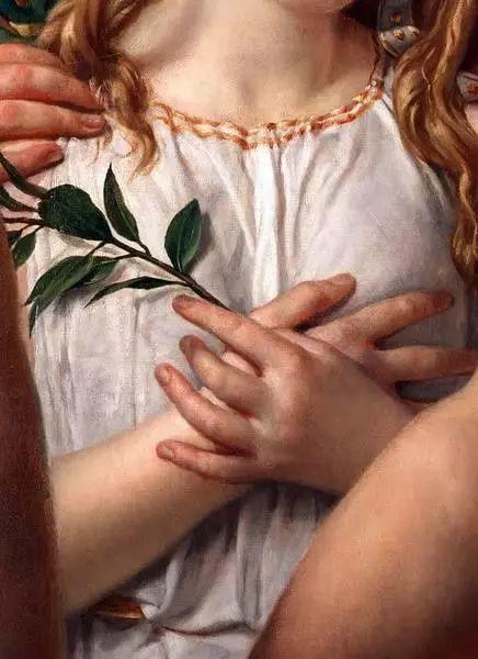 西方艺术大师们的油画作品细节,望尘莫及!插图149
