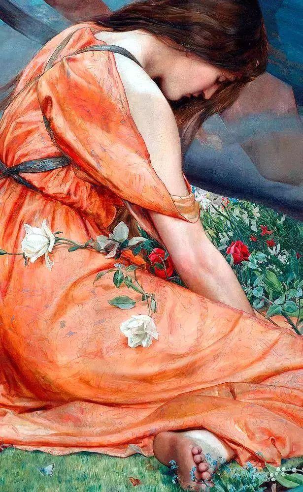 西方艺术大师们的油画作品细节,望尘莫及!插图155