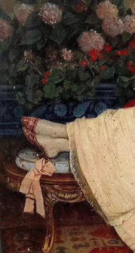 西方艺术大师们的油画作品细节,望尘莫及!插图157