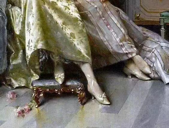 西方艺术大师们的油画作品细节,望尘莫及!插图167
