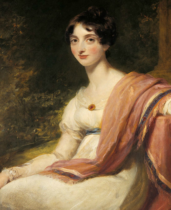 两百年前华丽风格的女性肖像,奔放的笔触、明亮的色彩!插图63