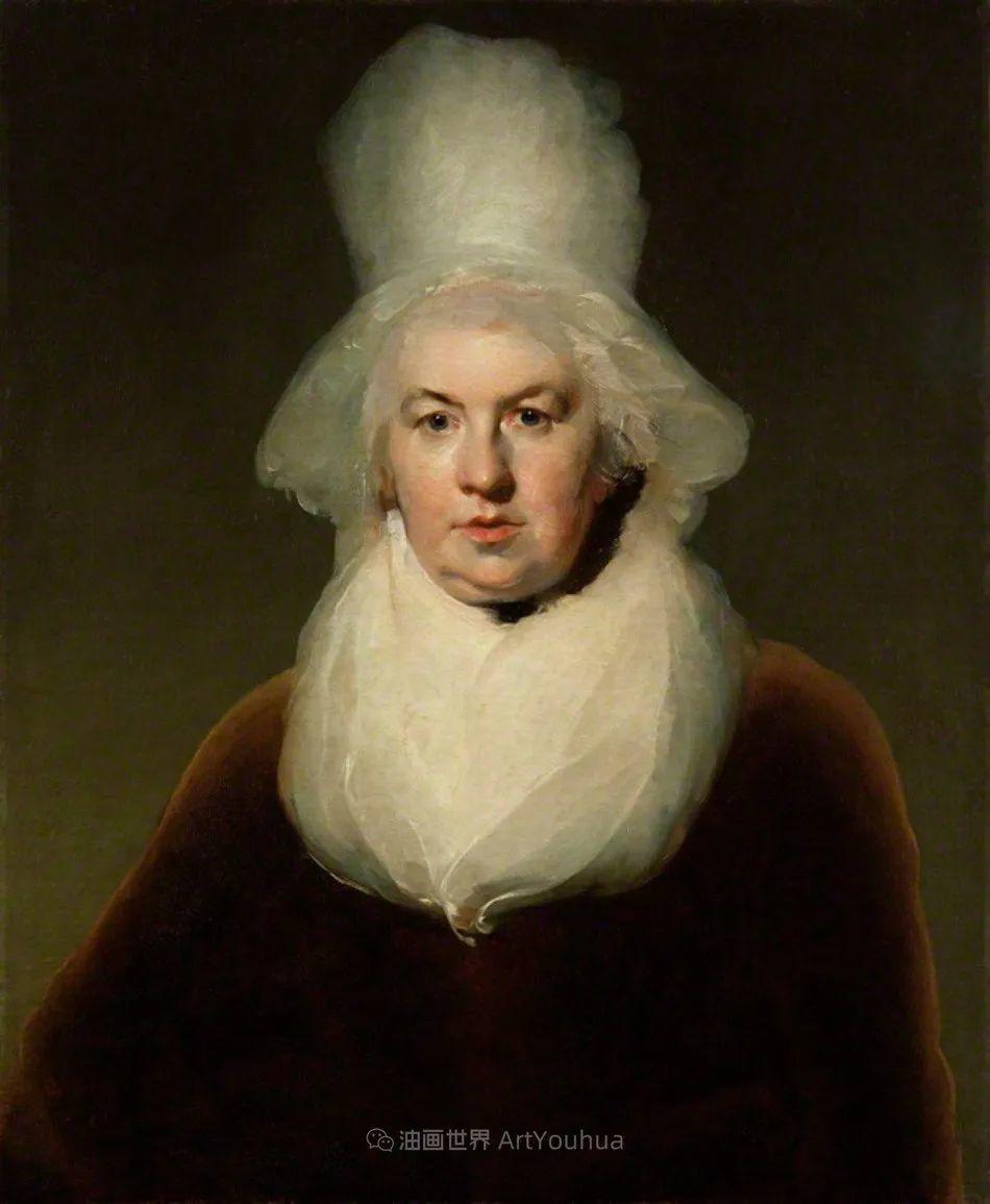 两百年前华丽风格的女性肖像,奔放的笔触、明亮的色彩!插图121