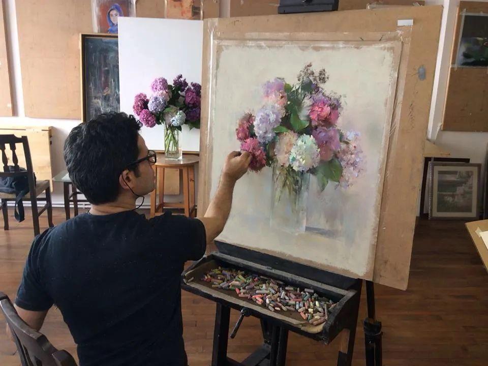 自学成才的伊朗粉彩画家贾瓦德·索莱曼普插图7