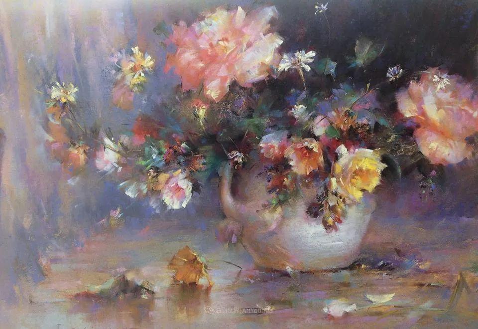自学成才的伊朗粉彩画家贾瓦德·索莱曼普插图11