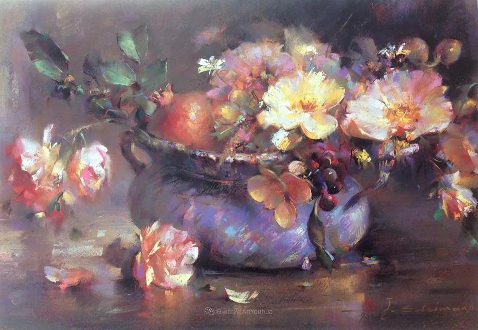 自学成才的伊朗粉彩画家贾瓦德·索莱曼普插图13