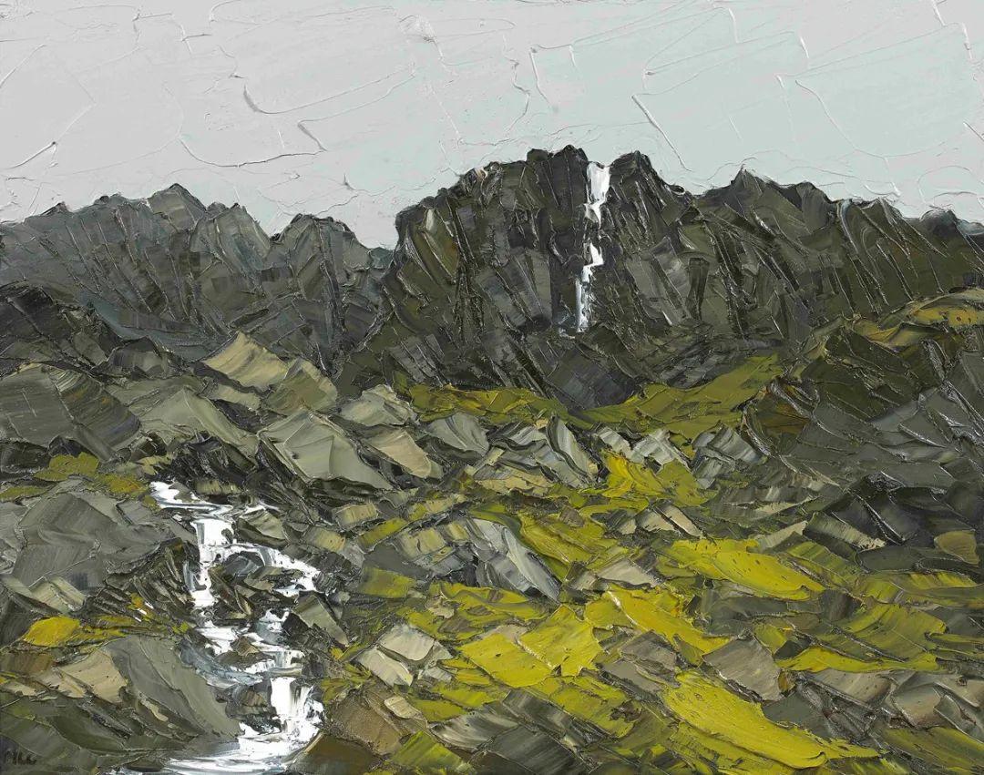 纹理丰富,色调柔和的刀画,英国画家马丁·卢埃林插图21