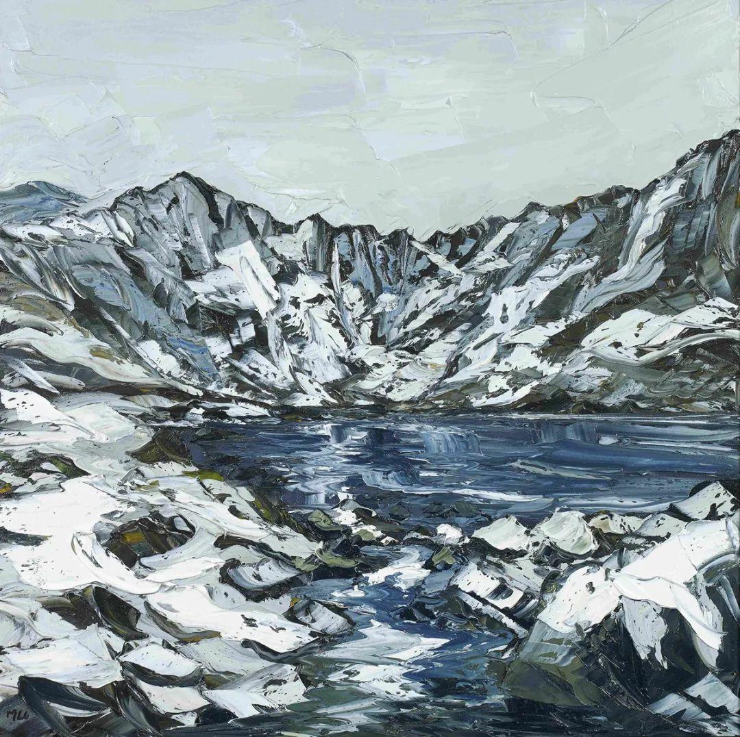 纹理丰富,色调柔和的刀画,英国画家马丁·卢埃林插图31