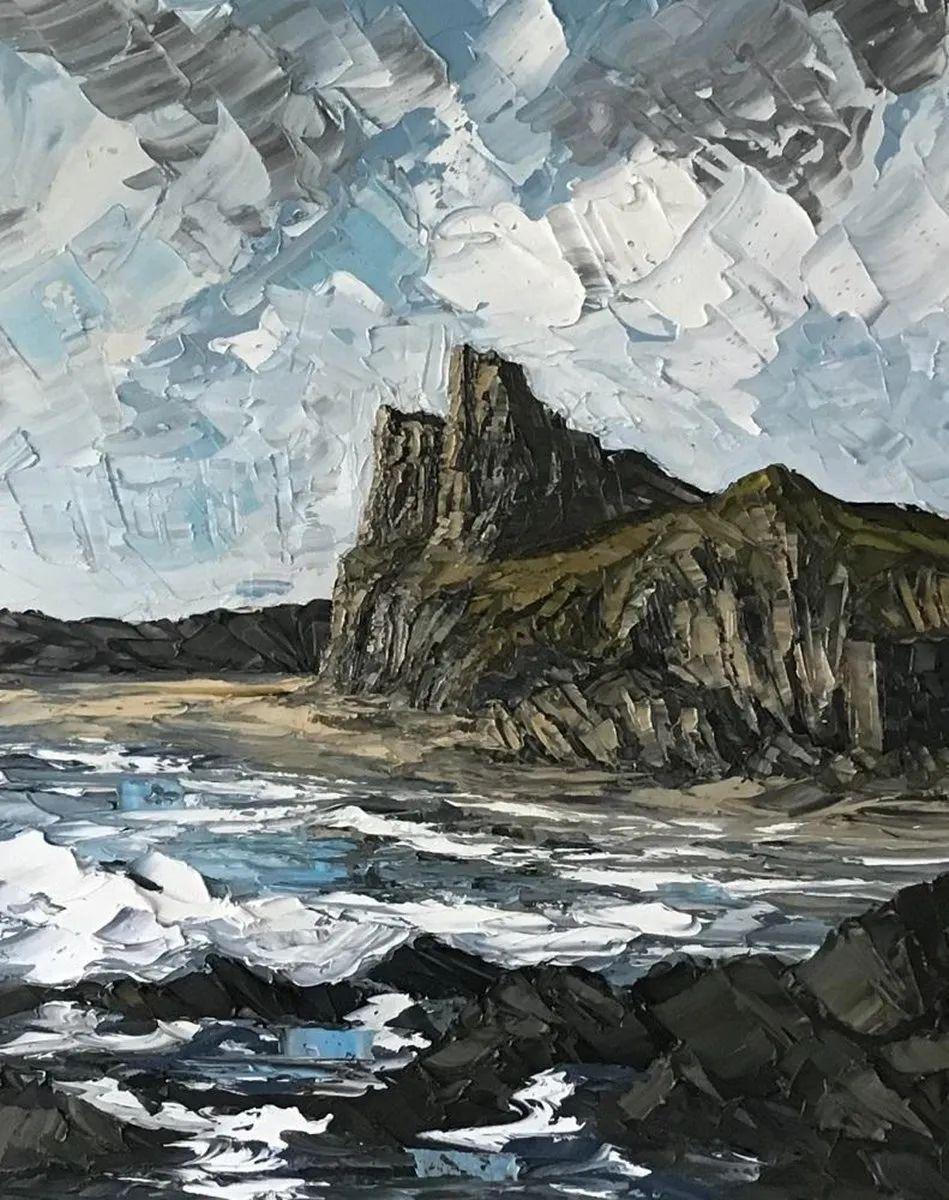 纹理丰富,色调柔和的刀画,英国画家马丁·卢埃林插图67