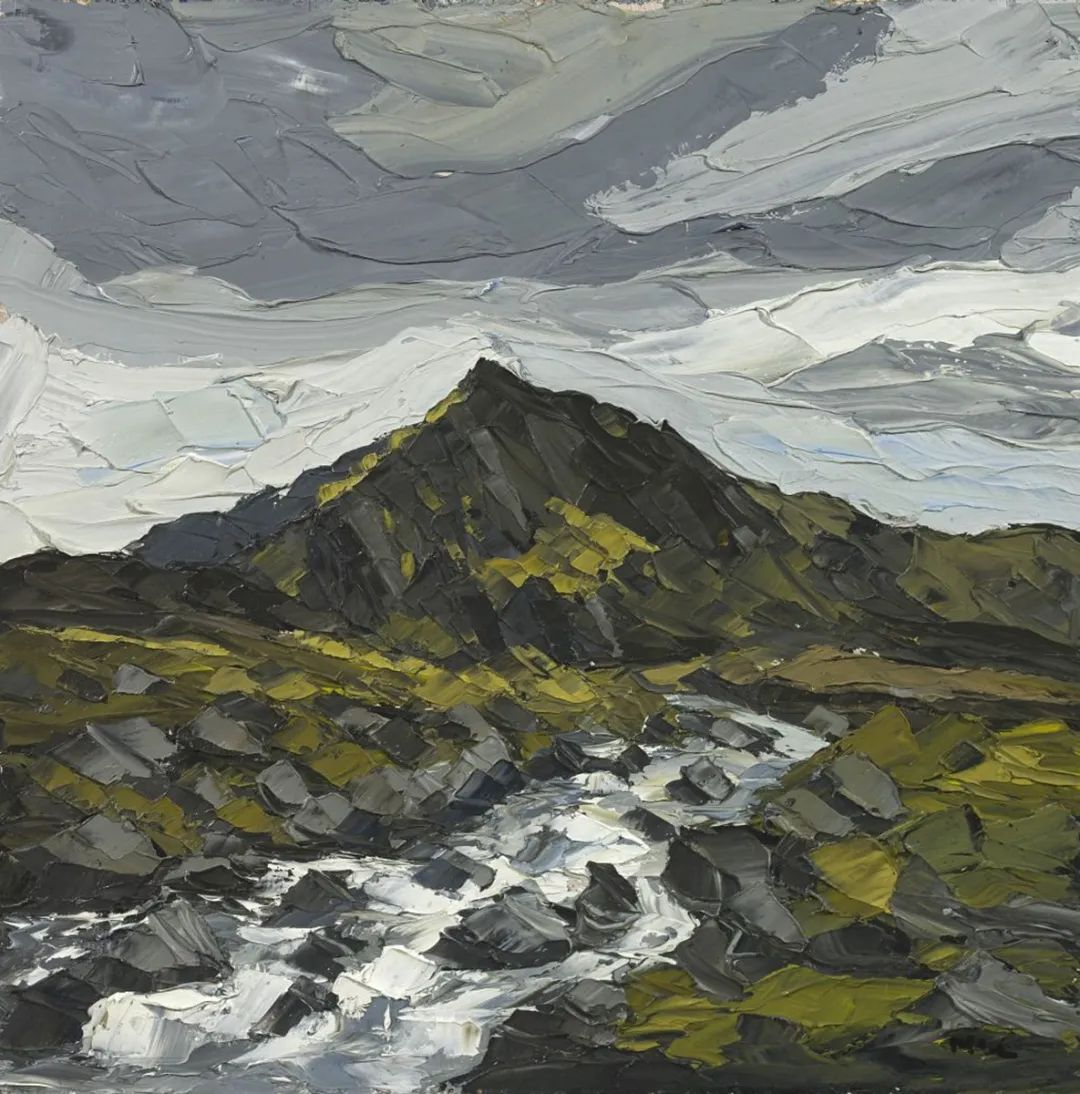 纹理丰富,色调柔和的刀画,英国画家马丁·卢埃林插图71