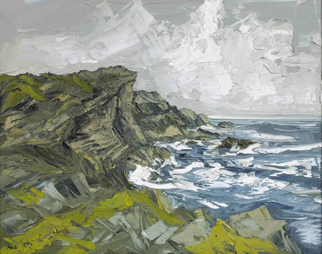 纹理丰富,色调柔和的刀画,英国画家马丁·卢埃林插图101