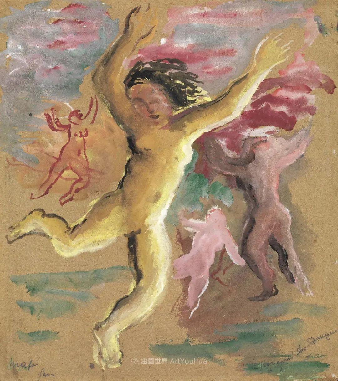 现代艺术运动,意大利画家马里奥·马菲插图17