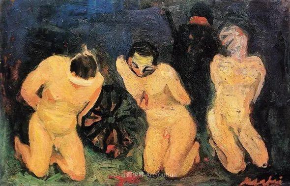 现代艺术运动,意大利画家马里奥·马菲插图24