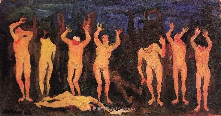 现代艺术运动,意大利画家马里奥·马菲插图26