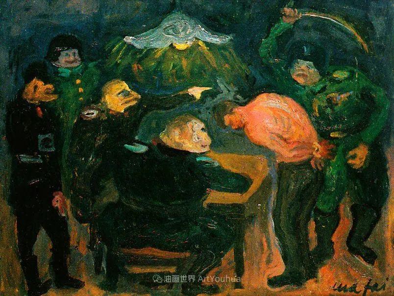现代艺术运动,意大利画家马里奥·马菲插图34