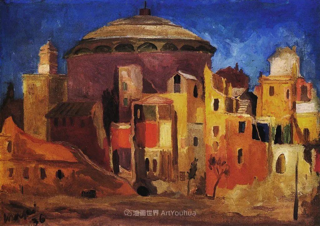 现代艺术运动,意大利画家马里奥·马菲插图40