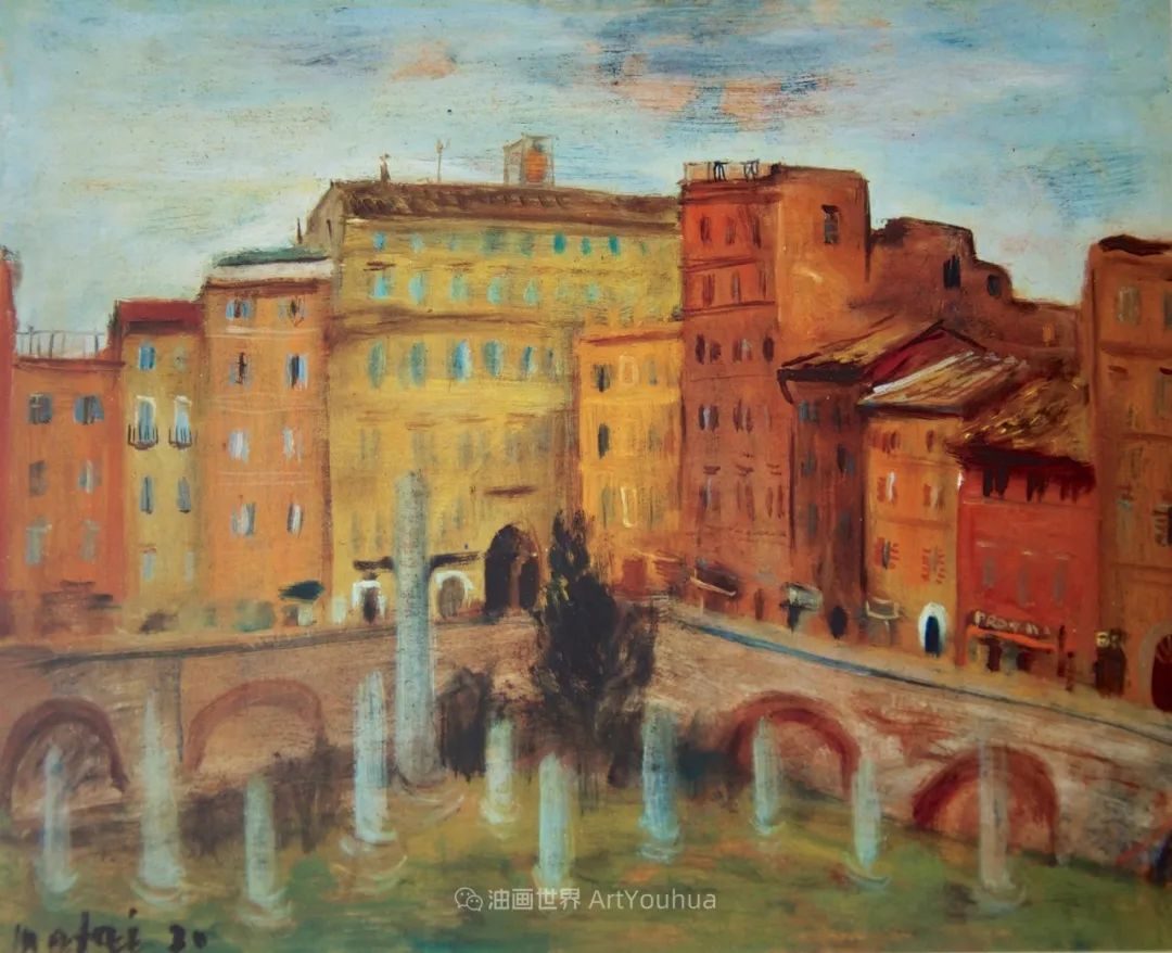 现代艺术运动,意大利画家马里奥·马菲插图54