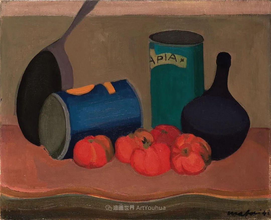现代艺术运动,意大利画家马里奥·马菲插图58