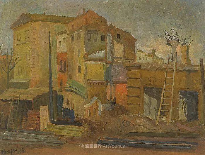 现代艺术运动,意大利画家马里奥·马菲插图96