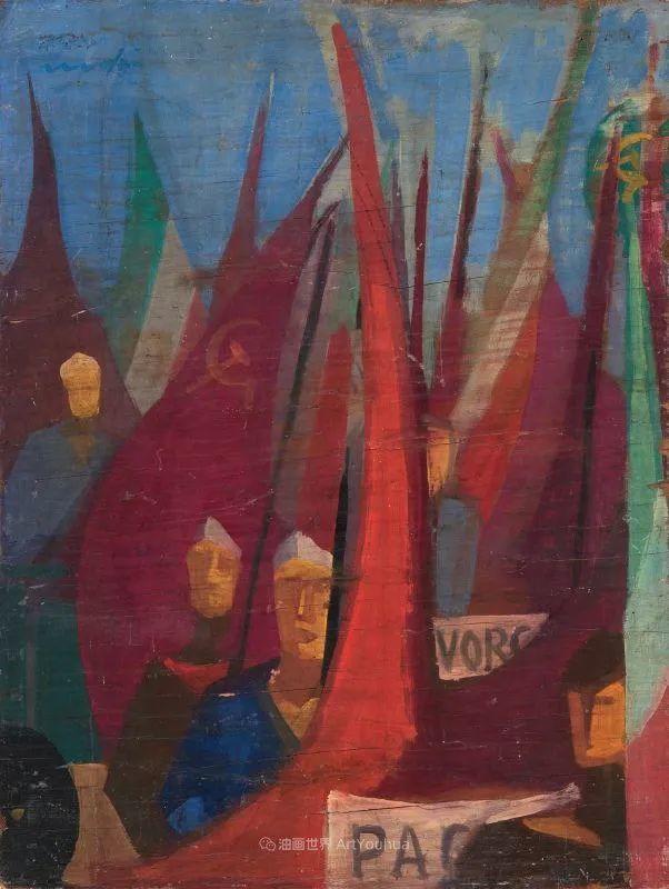 现代艺术运动,意大利画家马里奥·马菲插图98