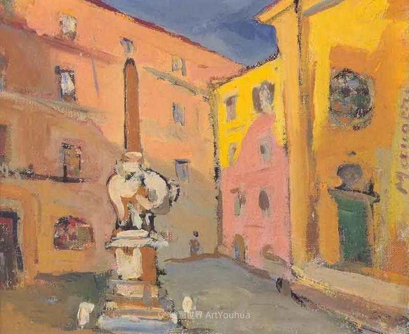 现代艺术运动,意大利画家马里奥·马菲插图104
