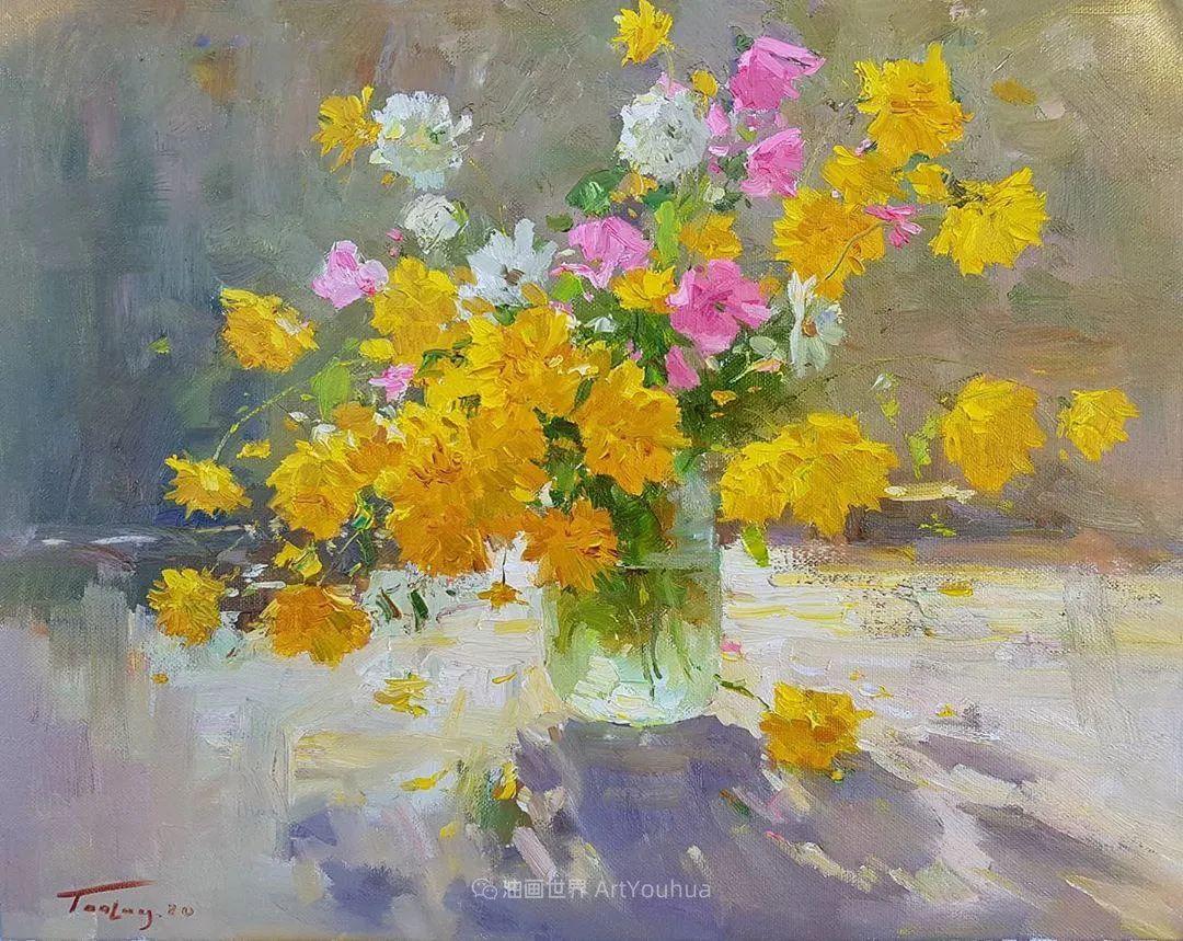 他的花儿如此生动和明亮,充满了光和微妙的东方哲学!插图1