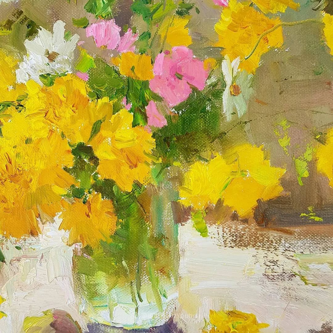 他的花儿如此生动和明亮,充满了光和微妙的东方哲学!插图3