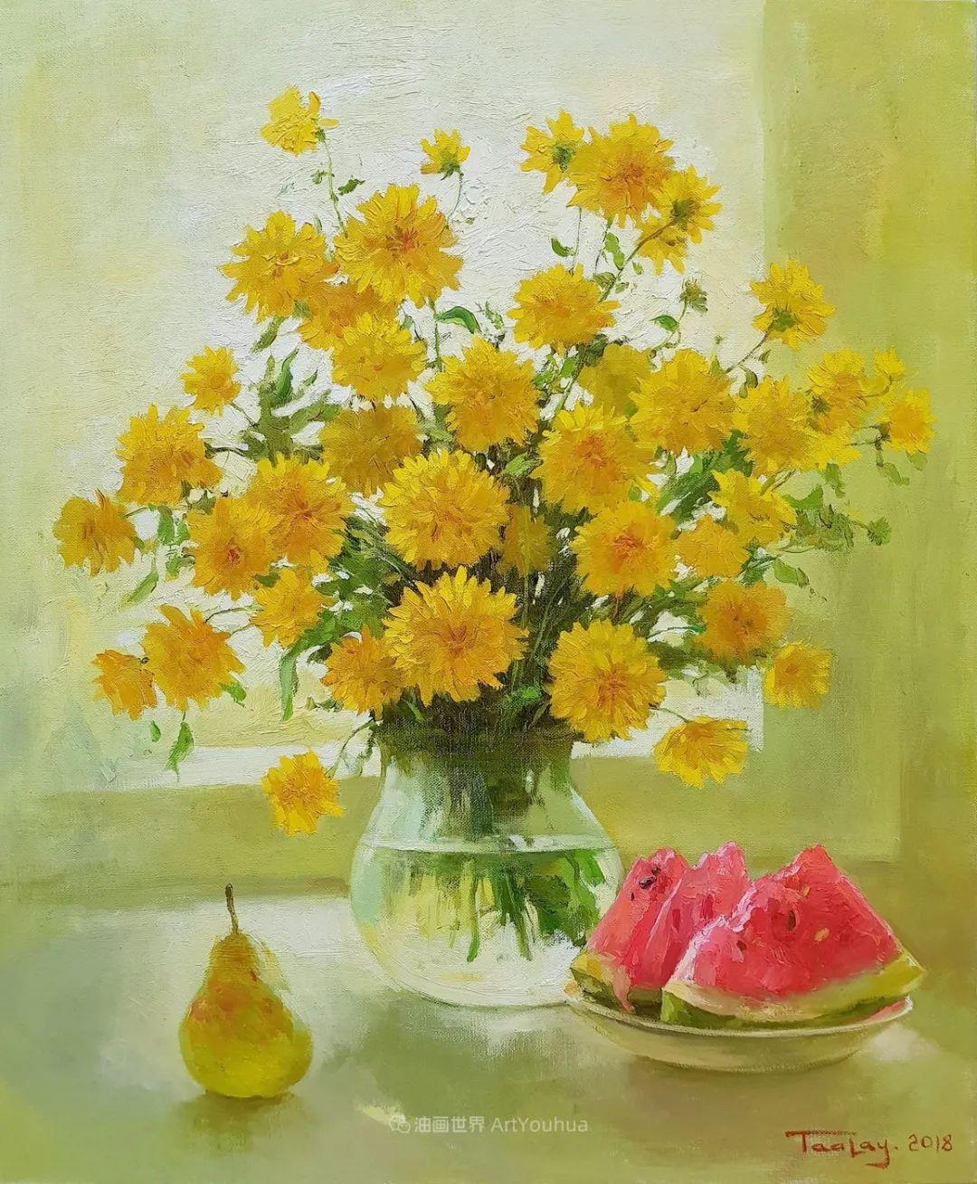 他的花儿如此生动和明亮,充满了光和微妙的东方哲学!插图17