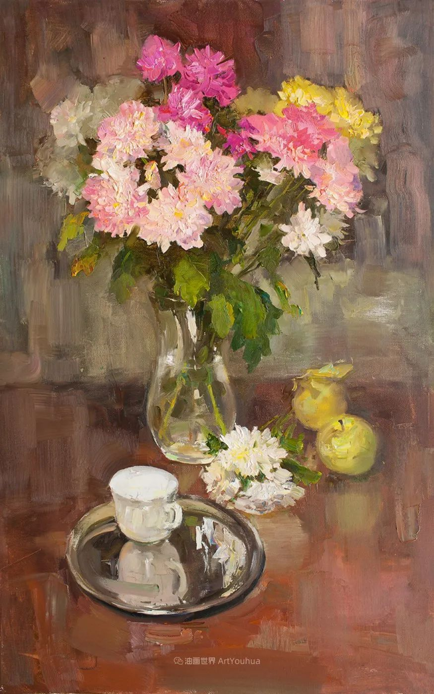 他的花儿如此生动和明亮,充满了光和微妙的东方哲学!插图25