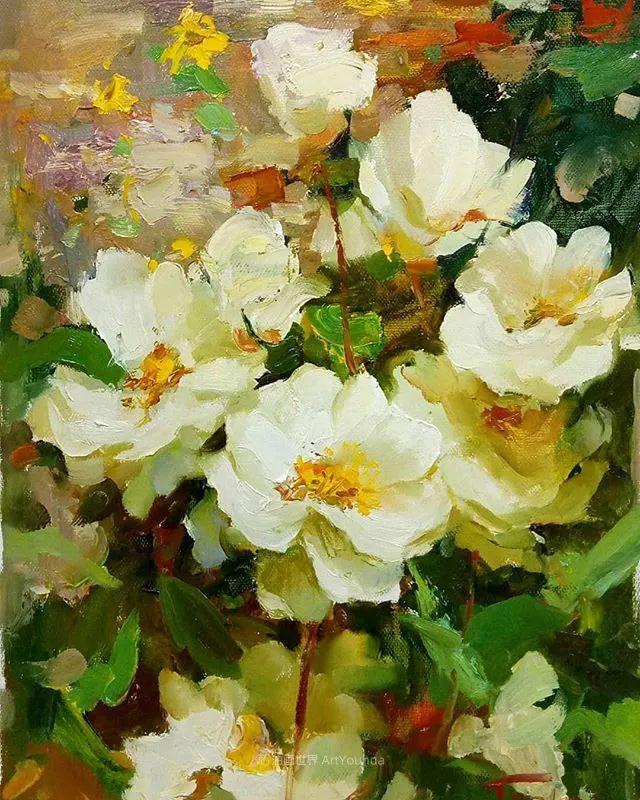 他的花儿如此生动和明亮,充满了光和微妙的东方哲学!插图47