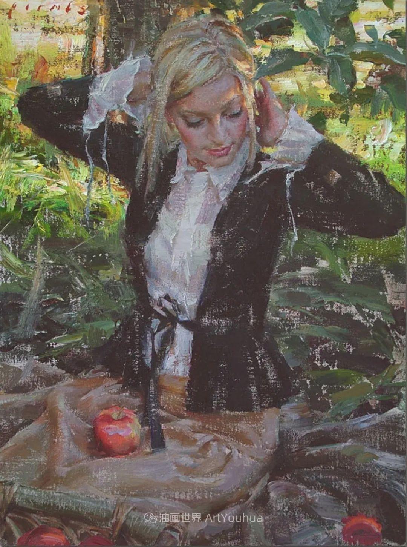 具象女性人物,感受绘画所带来的情感影响和力量!插图17