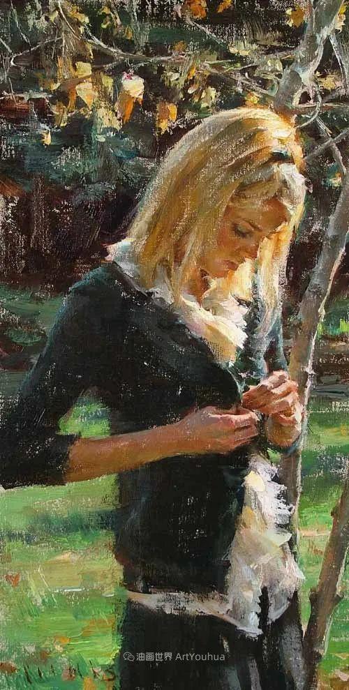具象女性人物,感受绘画所带来的情感影响和力量!插图33