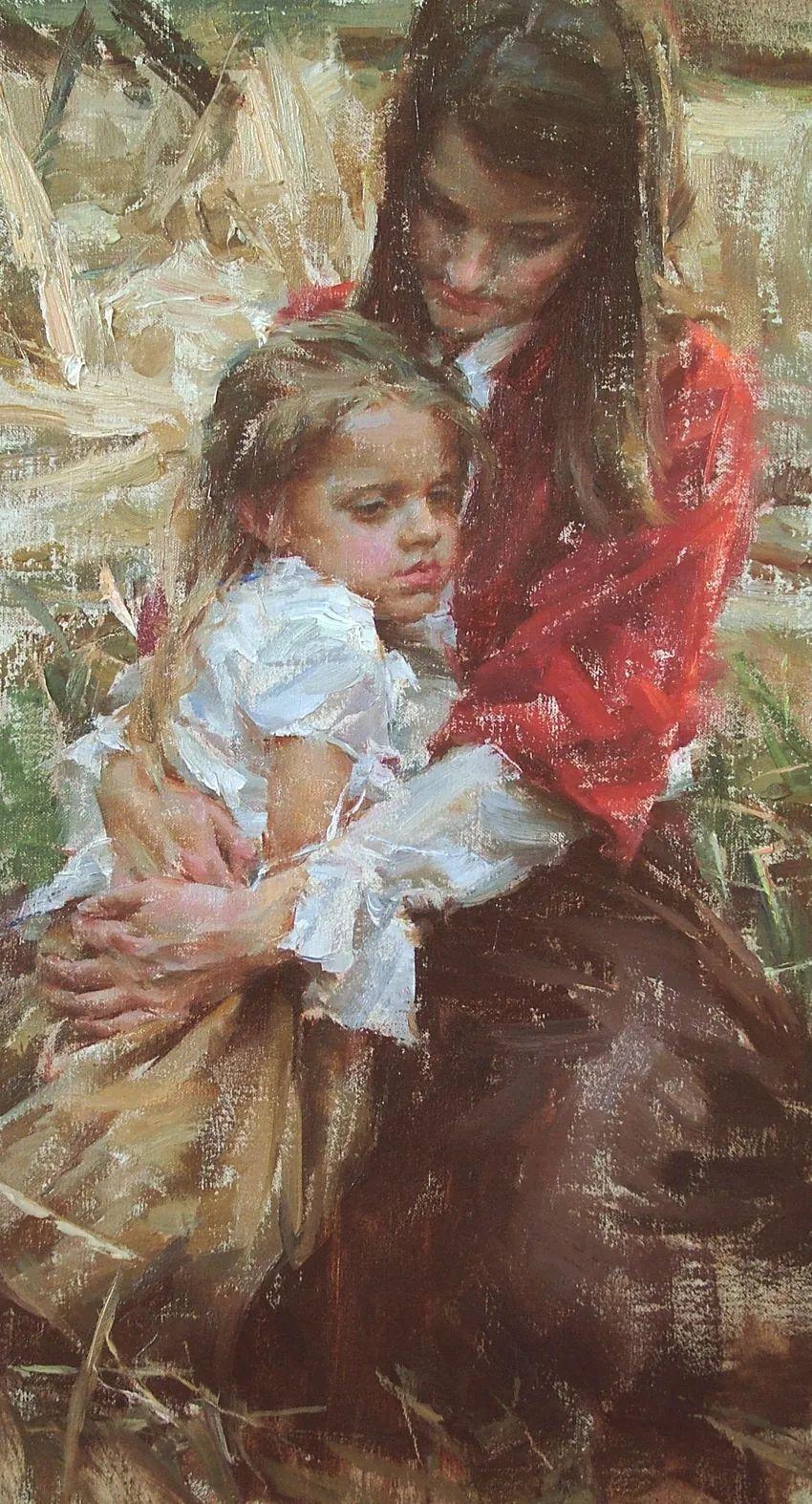 具象女性人物,感受绘画所带来的情感影响和力量!插图35