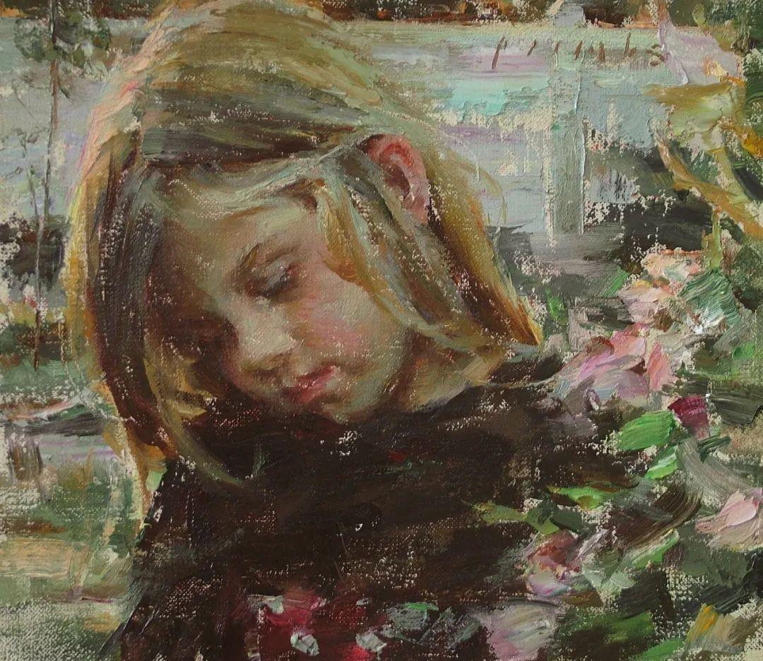 具象女性人物,感受绘画所带来的情感影响和力量!插图37