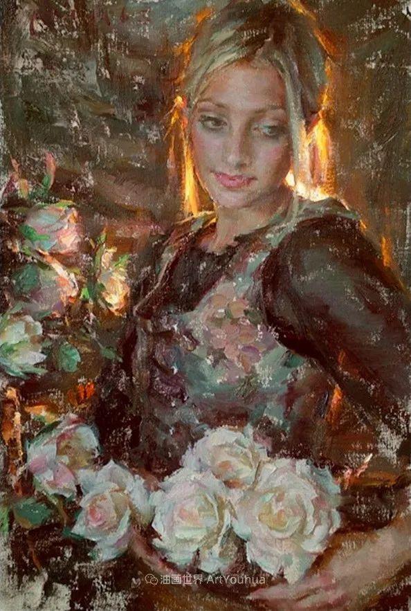 具象女性人物,感受绘画所带来的情感影响和力量!插图39