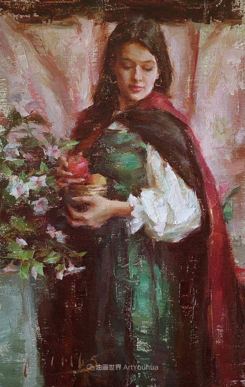 具象女性人物,感受绘画所带来的情感影响和力量!插图49
