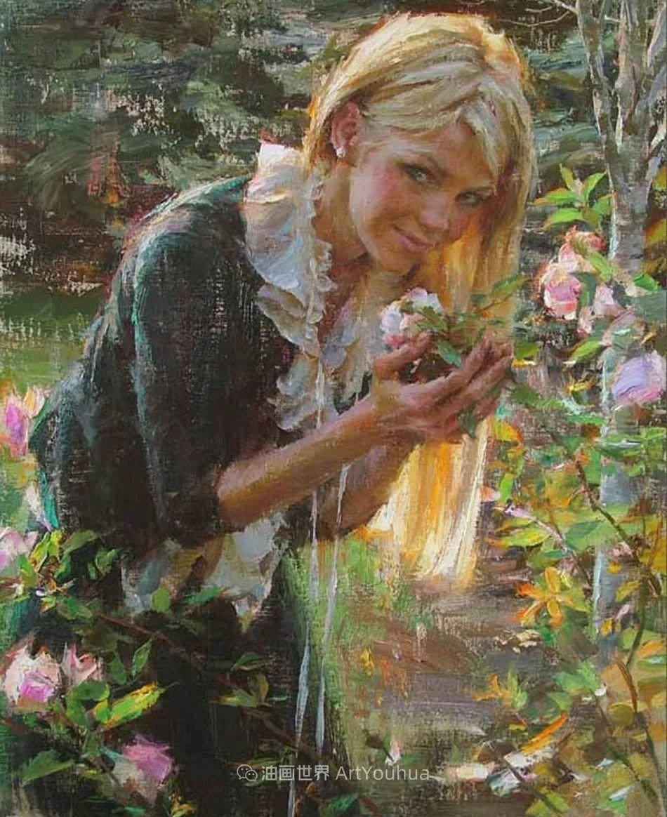 具象女性人物,感受绘画所带来的情感影响和力量!插图59