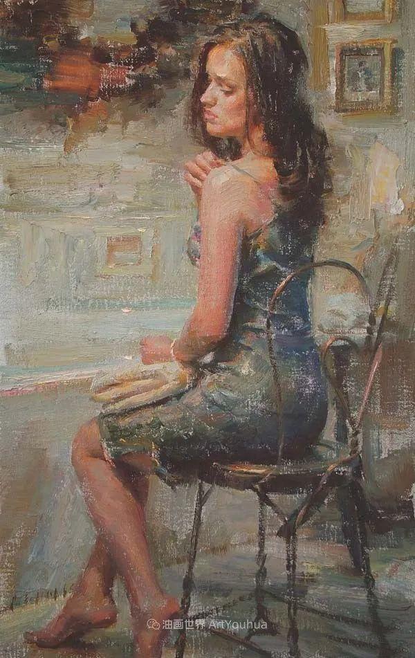 具象女性人物,感受绘画所带来的情感影响和力量!插图69